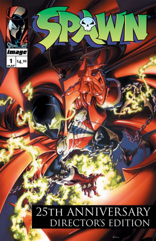 Spawn #1 (25th Anniversary Director's Cut Crain Cover)