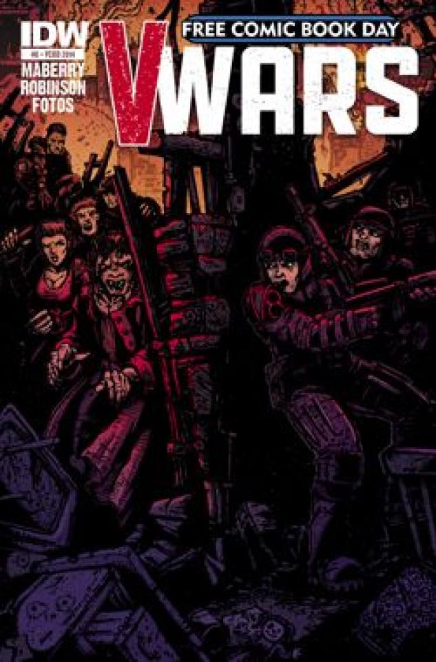 V-Wars Free Comic Book Day 2014