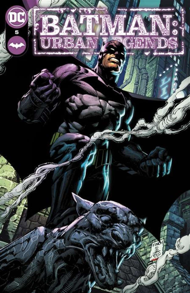 Batman: Urban Legends #5 (David Finch Cover)