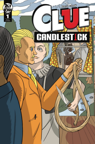 Clue: Candlestick #1 (10 Copy Shaw Cover)