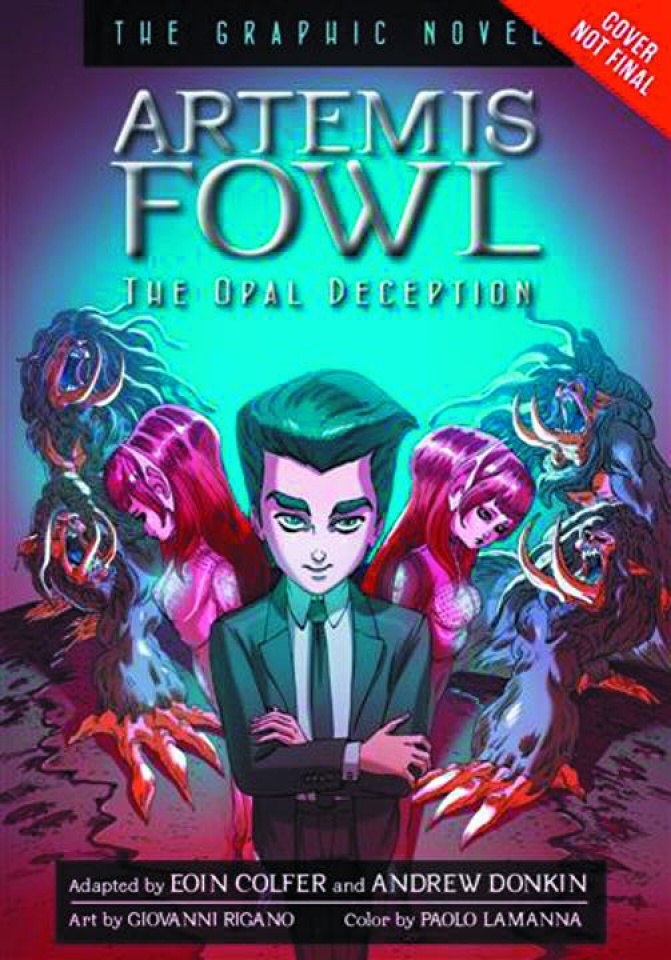 Artemis Fowl Vol. 4: The Opal Deception