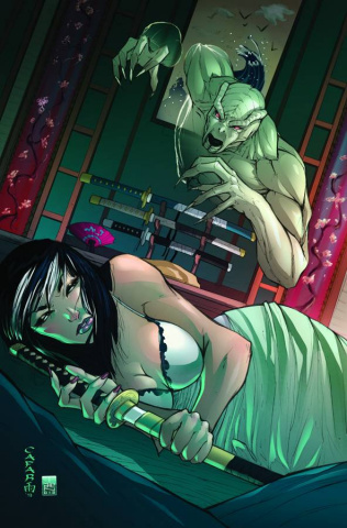 Grimm Fairy Tales: Demons Unseen #2 (Cafaro Cover)