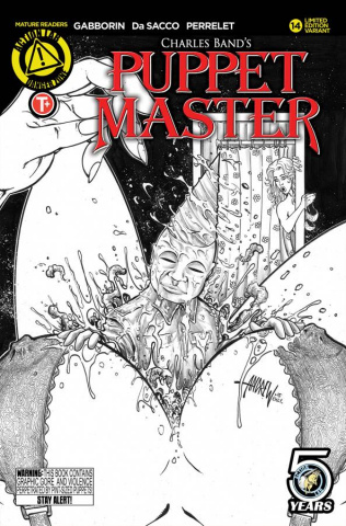 Puppet Master #14 (Kill Sketch Cover)