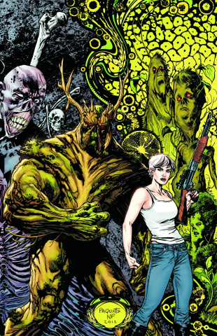 Swamp Thing Vol. 3: Rotworld - The Green Kingdom