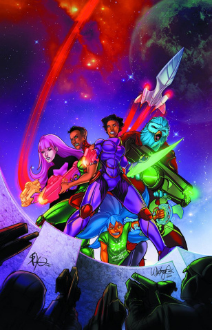 Galaxys for Hire #1 (Jackson Cover)