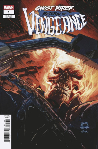 Ghost Rider: Return of Vengeance #1 (Stegman Cover)