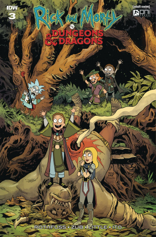 Rick and Morty vs. Dungeons & Dragons #3 (20 Copy Cover)