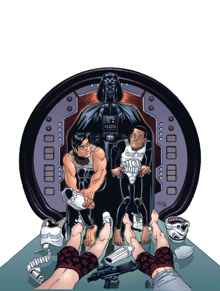 Star Wars: Tag & Bink Were Here #1