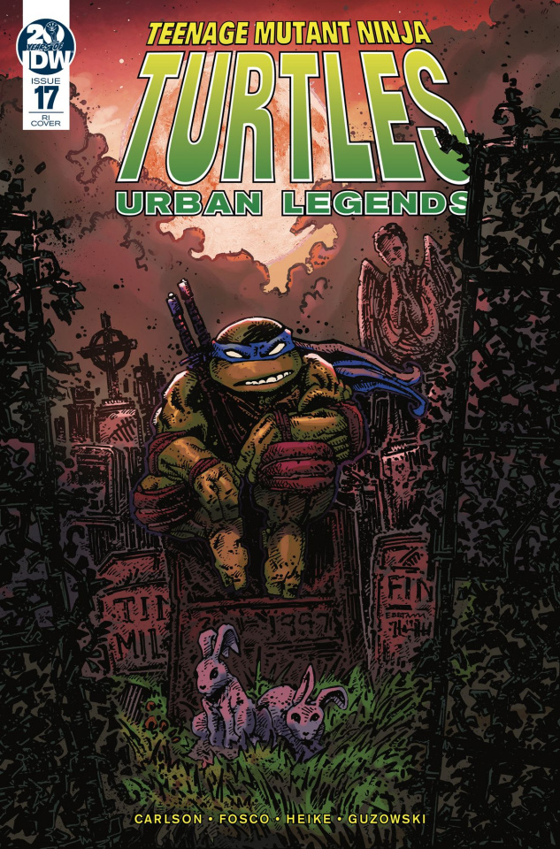 Teenage Mutant Ninja Turtles: Urban Legends #17 (10 Copy Eastman Cover)
