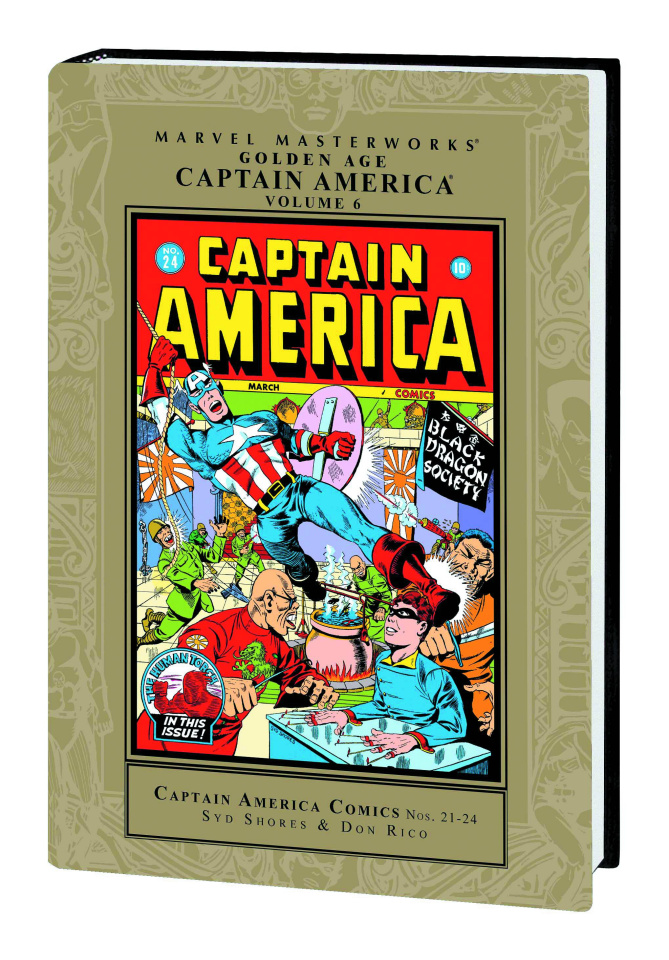 Golden Age Captain America Vol. 6 (Marvel Masterworks)