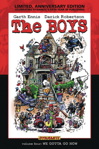 The Boys Vol. 4: We Gotta Go Now (Robertson Signed Edition)