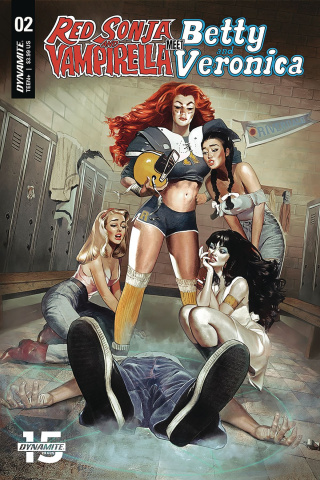 Red Sonja and Vampirella Meet Betty and Veronica #2 (Dalton Cover)