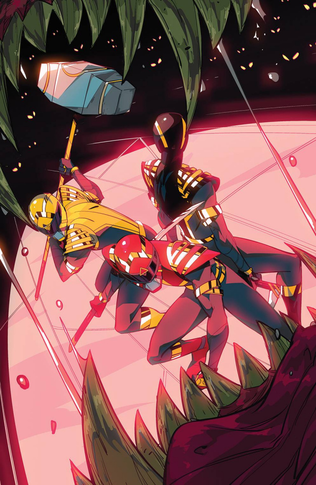 Power Rangers #3 (15 Copy Di Nicuolo Cover)
