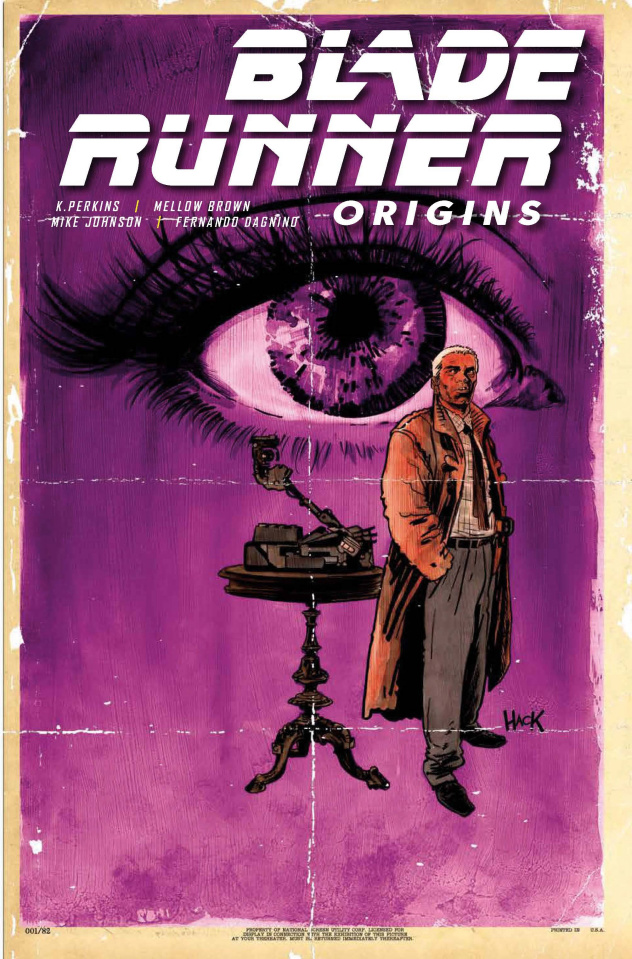 Blade Runner: Origins #2 (Hack Cover)