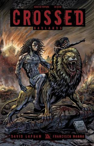 Crossed: Badlands #68 (Torture Cover)