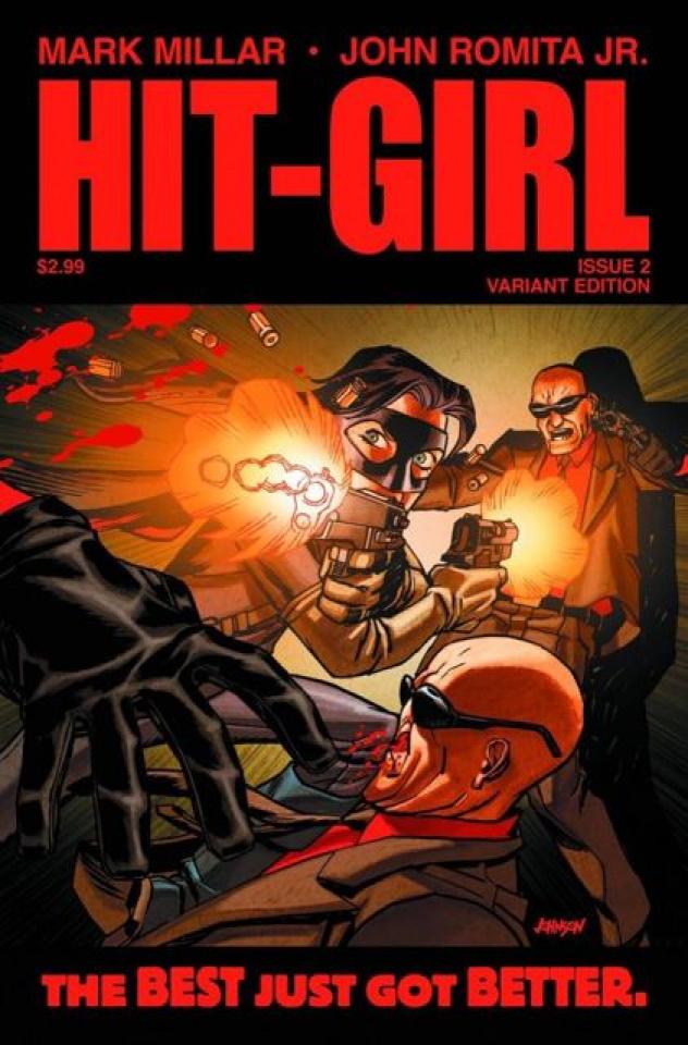 Hit-Girl #2 (2nd Printing)