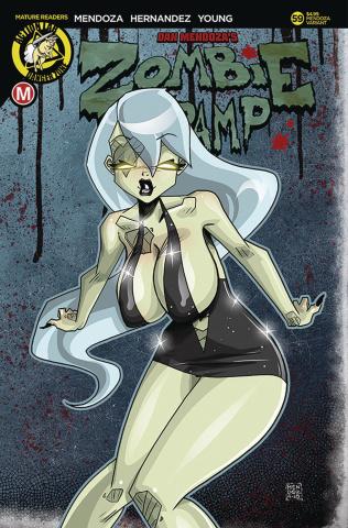 Zombie Tramp #59 (Mendoza Cover)