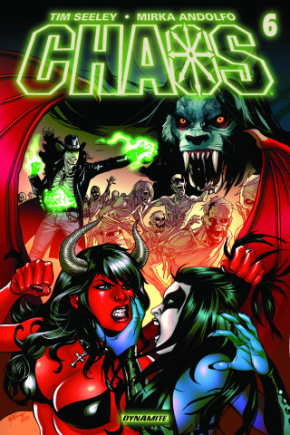 Chaos #6 (Lupacchino Cover)