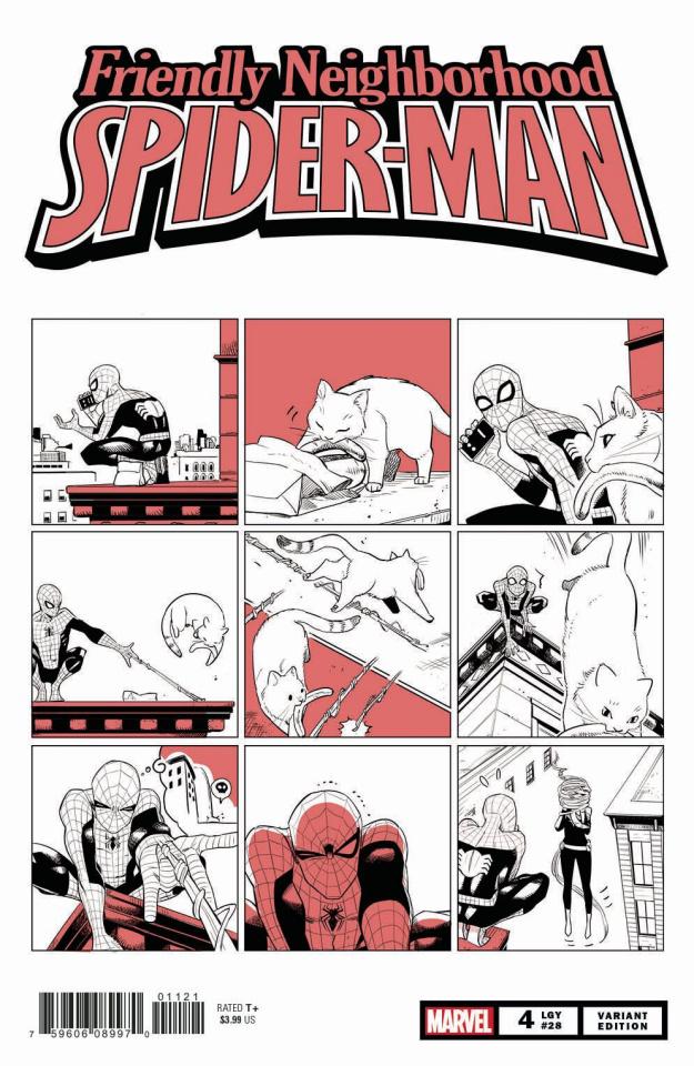 Friendly Neighborhood Spider-Man #4 (Cat Cover)