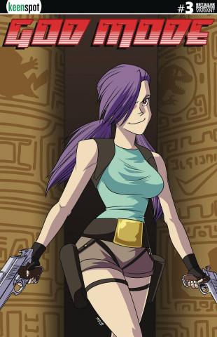 God Mode #3 (3 Copy Tomb Raider Parody Cover)