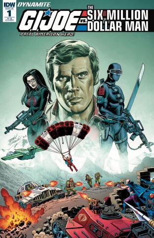 G.I. Joe vs. The Six Million Dollar Man #1 (25 Copy Cover)