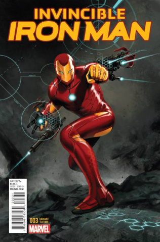 Invincible Iron Man #3 (Epting Cover)