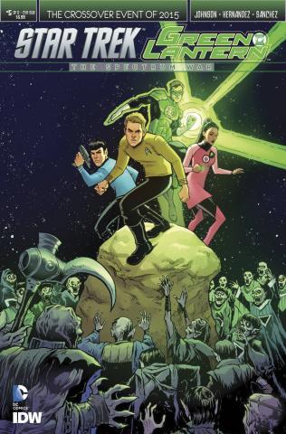 Star Trek / Green Lantern #5 (Fowler Cover)