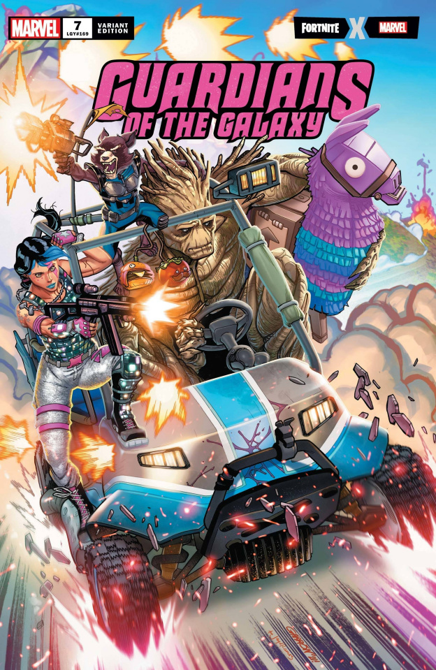 Guardians of the Galaxy #7 (Garron Fortnite Cover)