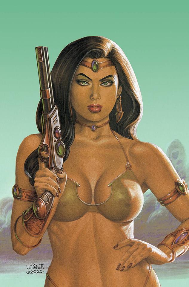 Dejah Thoris #12 (Linsner Virgin Cover)
