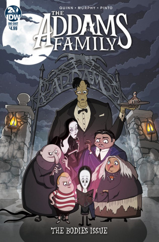 The Addams Family: The Bodies (Murphy Cover)