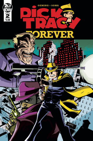 Dick Tracy Forever #2 (Oeming Cover)