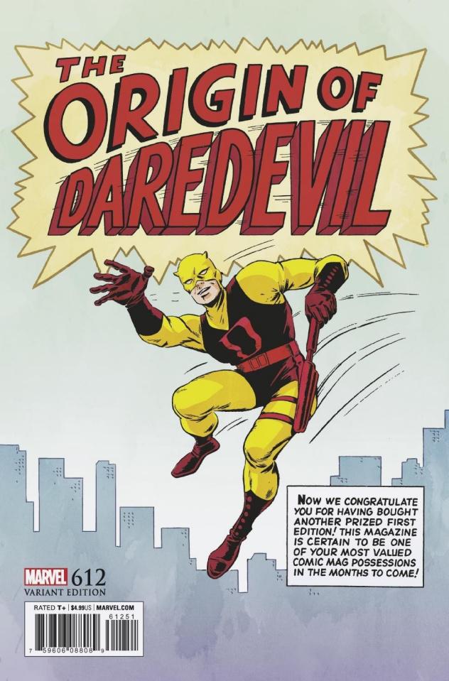 Daredevil #612 (Everett Remastered Cover)