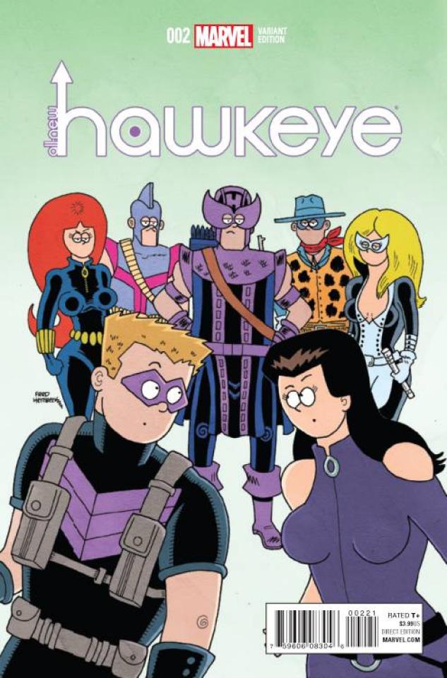 All-New Hawkeye #2 (Hembeck Cover)