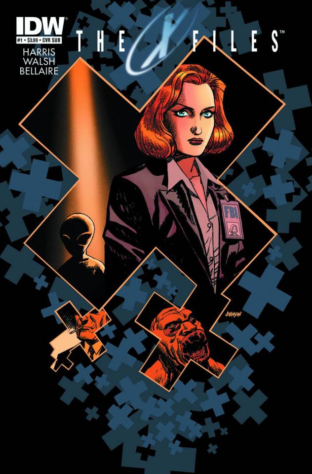 The X-Files, Season 10 #1 (Subscription Cover)