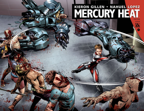 Mercury Heat #11 (Wrap Cover)