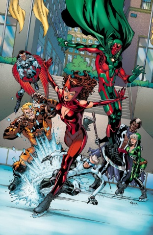 Uncanny Avengers #5 (Nauck NYC Cover)