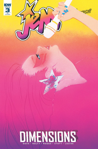 Jem and The Holograms: Dimensions #3 (10 Copy Cover)
