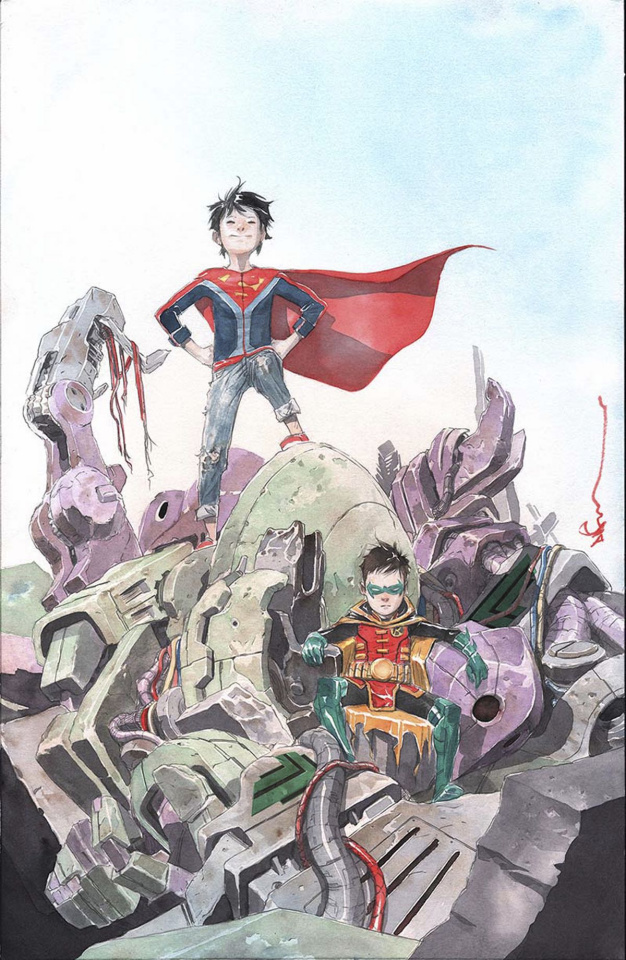 Super Sons #2 (Variant Cover)