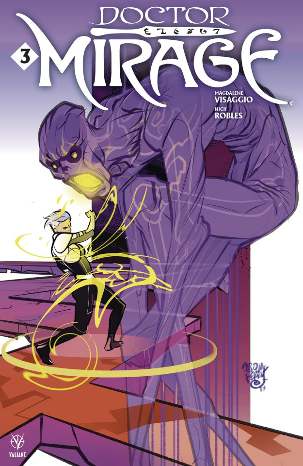 Doctor Mirage #3 (Ferry Cover)