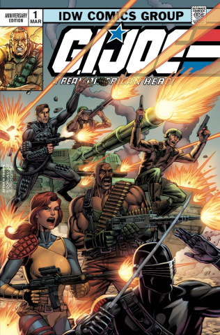 G.I. Joe: A Real American Hero #1: Anniversary Edition