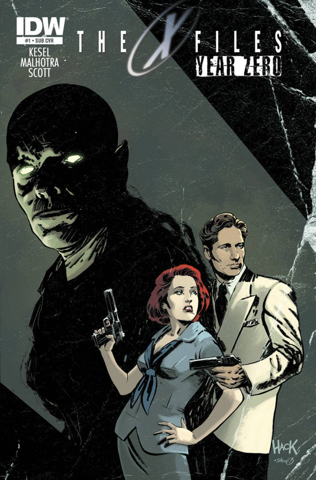 The X-Files: Year Zero #1 (Subscription Cover)