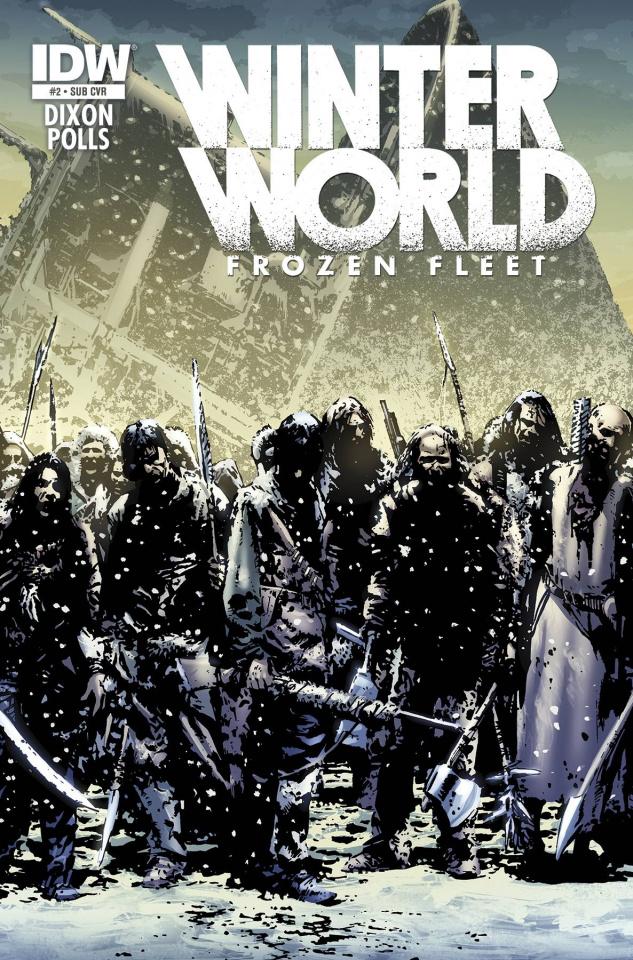 Winterworld: Frozen Fleet #2 (Subscription Cover)