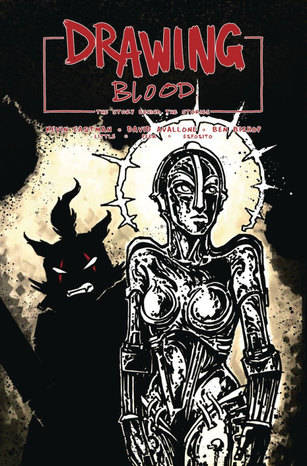 Drawing Blood: Spilled Ink #2 (Eastman Cover)