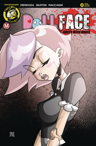 Dollface #21 (Mendoza Pin Up Cover)