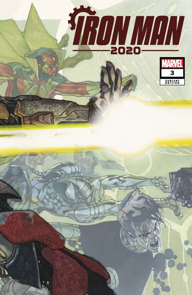 Iron Man 2020 #3 (Bianchi Connecting Cover)