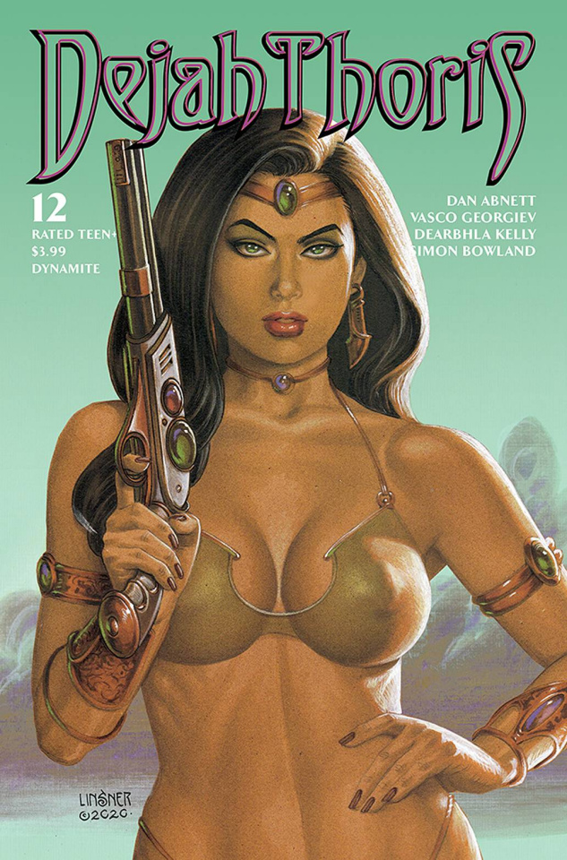 Dejah Thoris #12 (Linsner Cover)