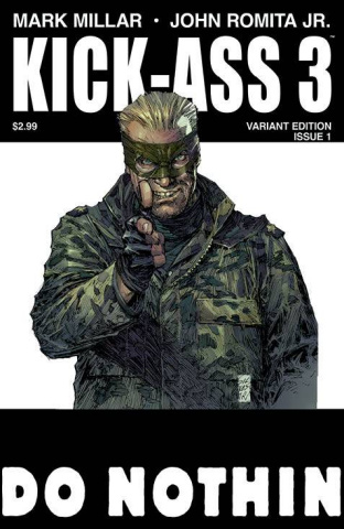 Kick-Ass 3 #1 (Silvestri Cover)