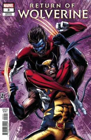 Return of Wolverine #3 (Zircher Cover)