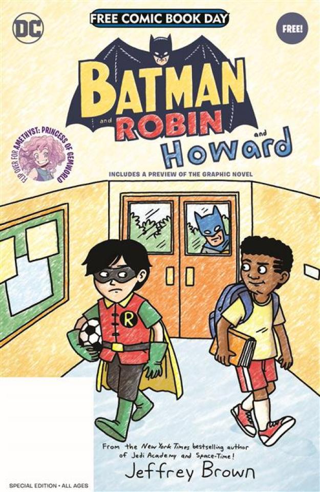 Batman and Robin and Howard / Amethyst: Princess of Gemworld (Free Comic Book Day 2021)
