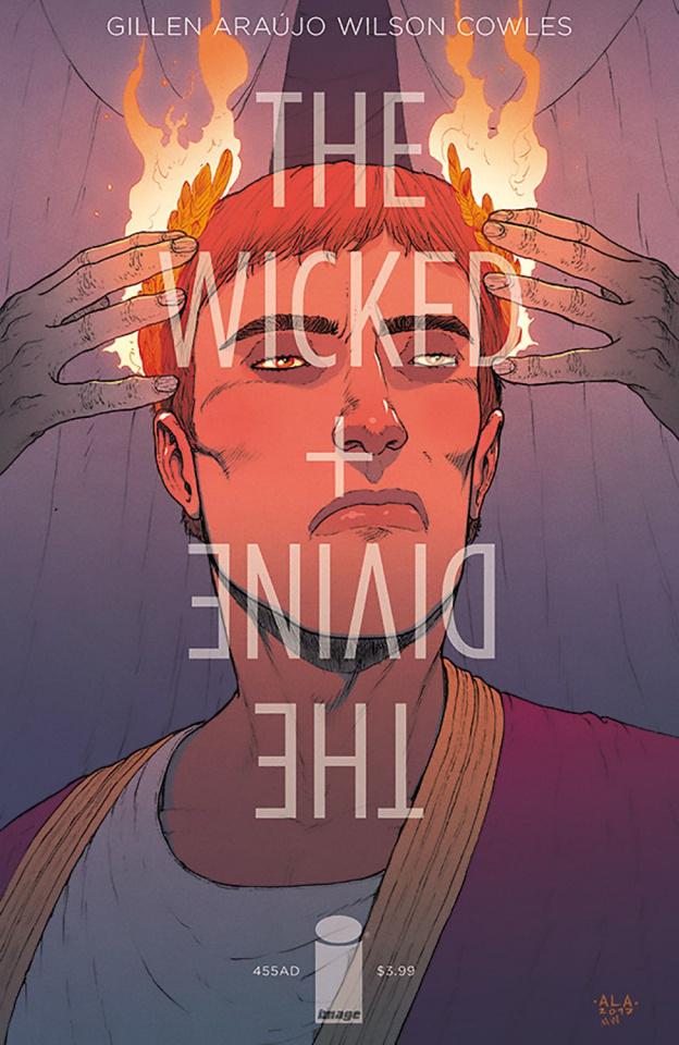 The Wicked + The Divine: 455 AD #1 (Araujo Cover)